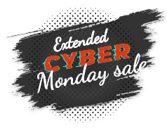 Extended Cyber Monday Sale