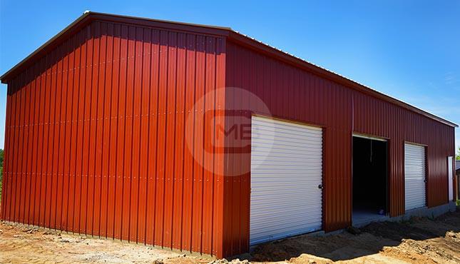 24×61 Enclosed Garage