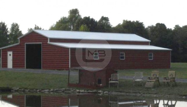 18×41 Raised Center Barn