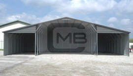 20W x 31L x 12H Continuous Roof Barn