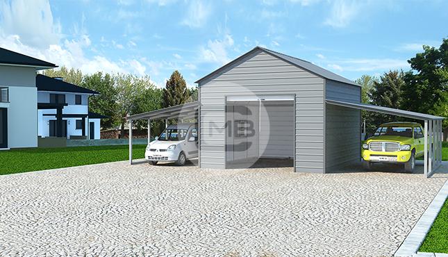 42×21 Raised Center Barn