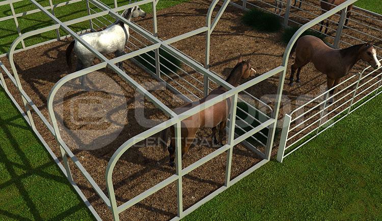 30'W x 21'L x 9'H Horse Barn