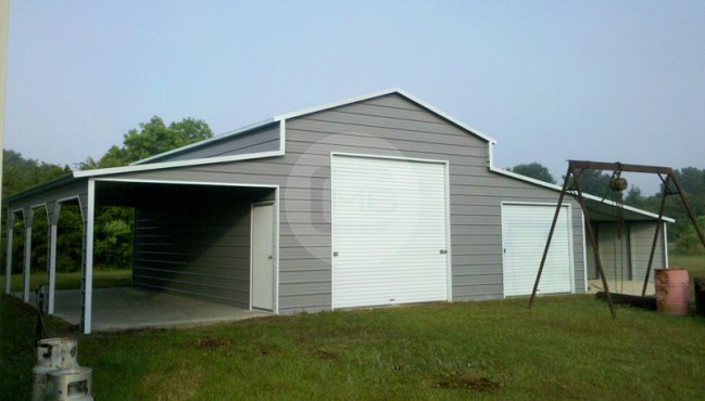 54x31 Raised Center Barn