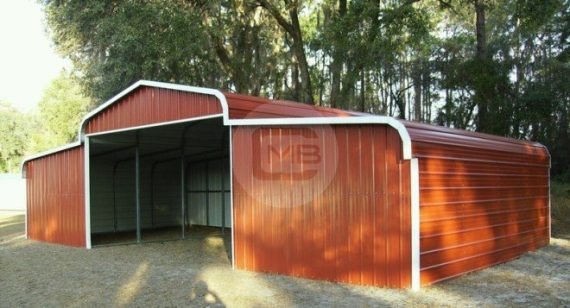 prefab metal horse barn
