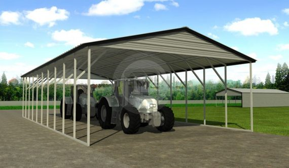 Steel Farm Shed
