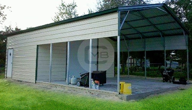 Utility Carport Metal Boat Cover Steel Storage Shed