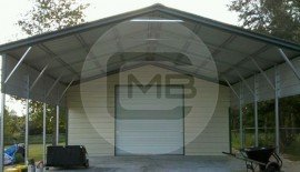 24W x 31L x 8H Outdoor Storage Building