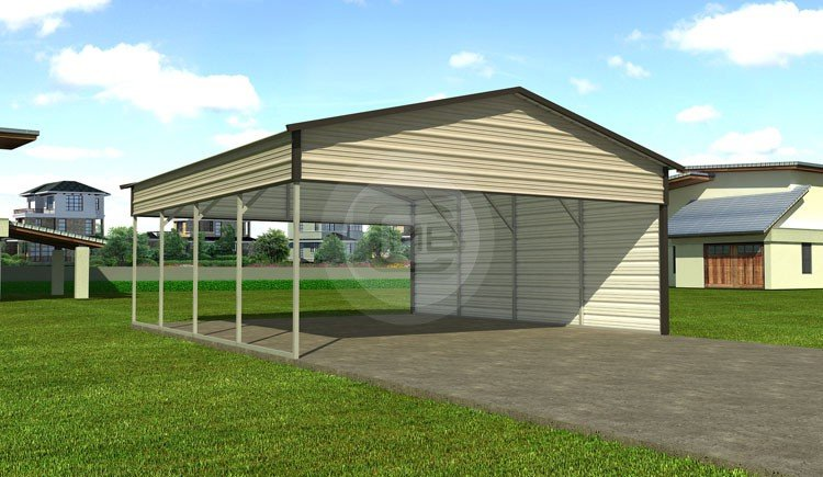 Metal Farm Building