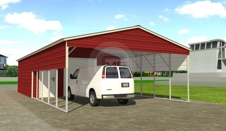 Metal Utility Shed