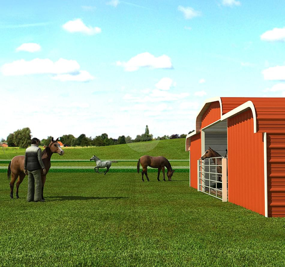 Horse-Barns
