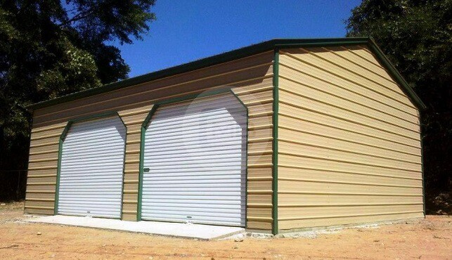 20×26 Two Car Garage