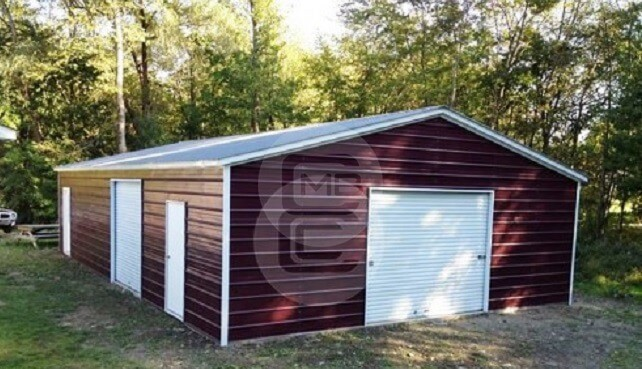 20×31 Custom Garage Building