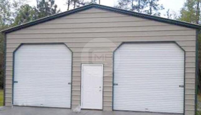 22×21 A-Frame Garage