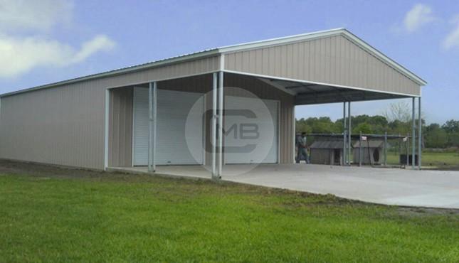 26×52 Large Custom Garage