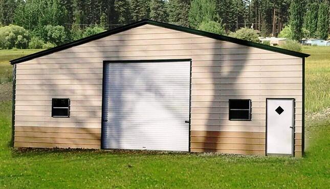 30×21 Metal Garage