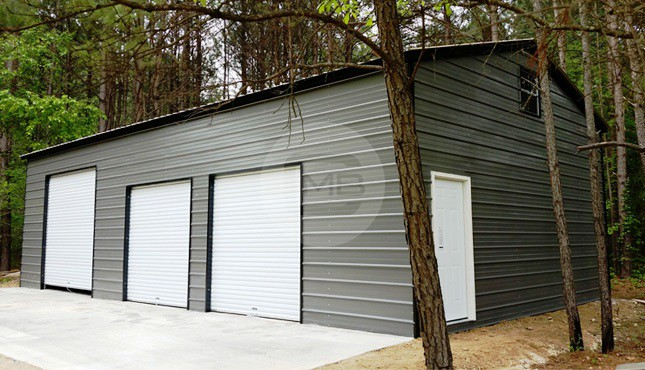 24x46 Side Entry Garage