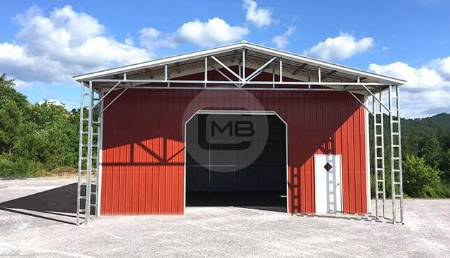 Metal Utility Building