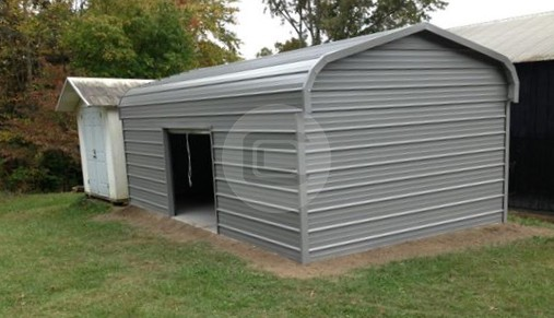 Garage – 12×21 Regular- Enclosed