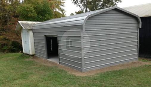 12x21x7 Enclosed Garage