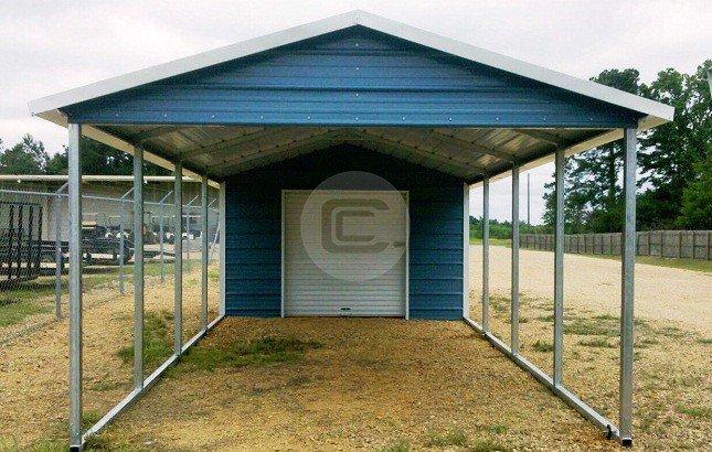 18'W x 31'L x 8'H – Carport Utility