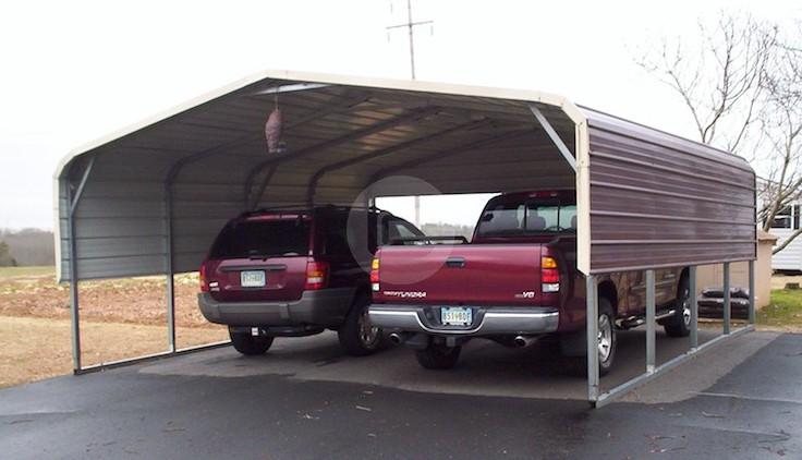 20 39 W X 21 39 L X 7 39 H Carport With Options Metalbarnscentral