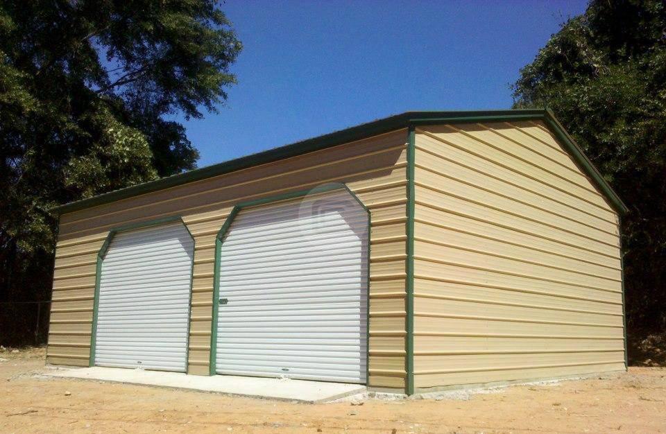 20x26 Metal Garage