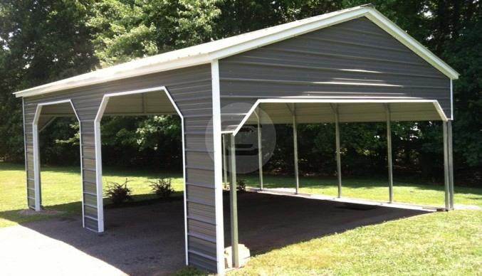 20×26 Side Entry Carport