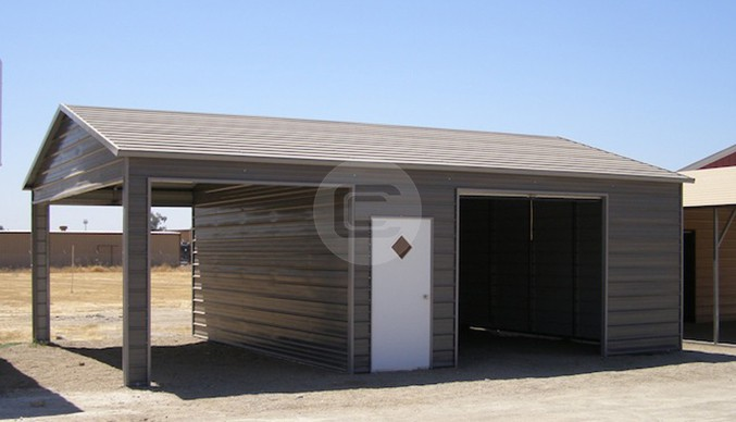 20×31 Side Entry Garage