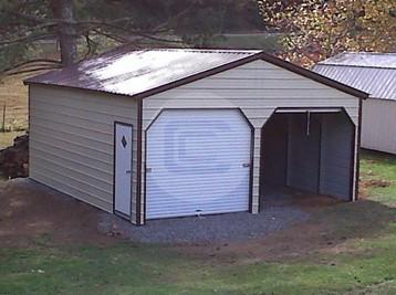 22x21x9 Vertical Garage