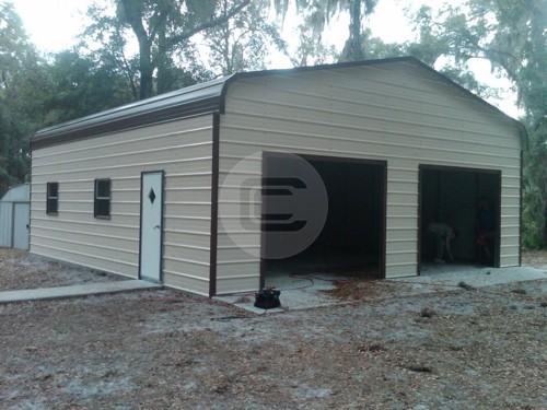 Regular Style Enclosed Garage 22×31
