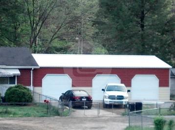 24x36x10 Side Entry Garage