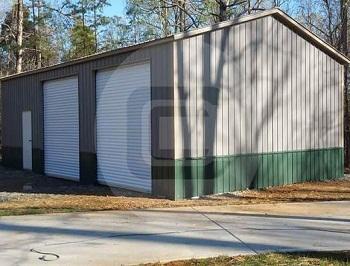 24x41 Side Entry Garage-F