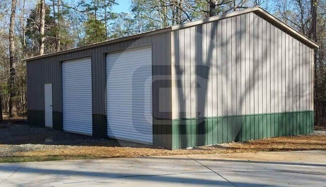 24×41 Side Entry Garage