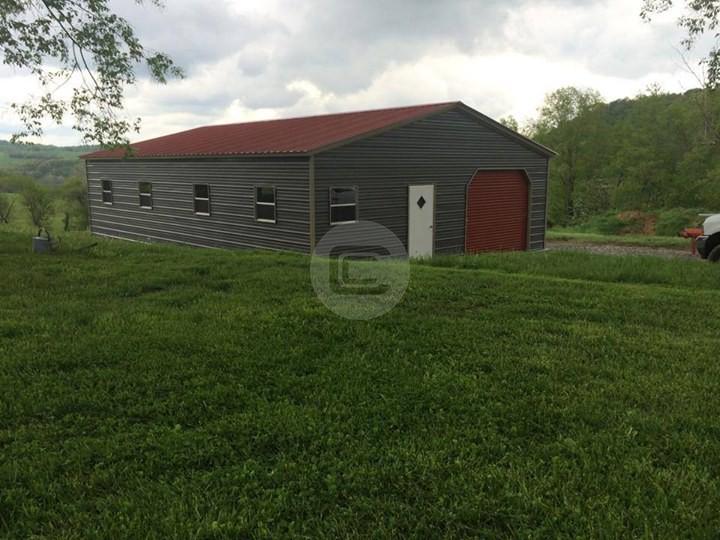 24x41x9-Vertical-Roof-Garage