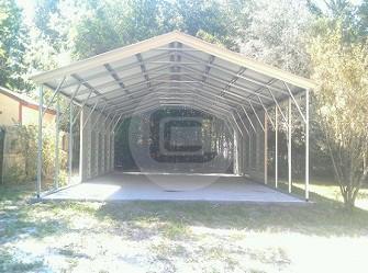 24x41 Carport Metal Barn Central