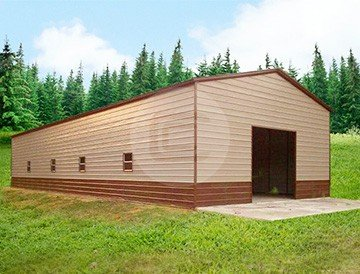 24x51x12 Vertical Garage/Workshop