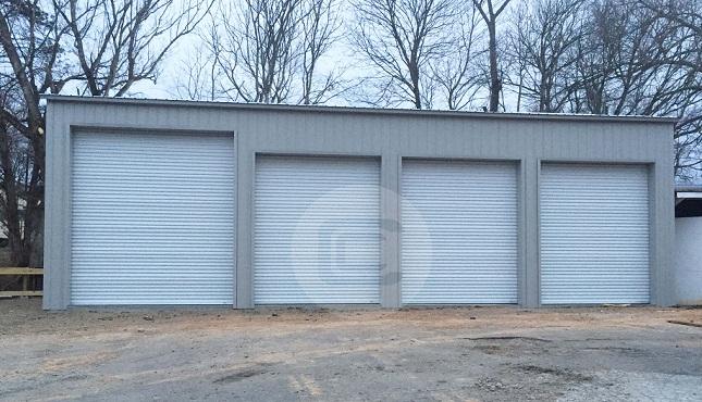 24x51x14 Side Entry Garage2