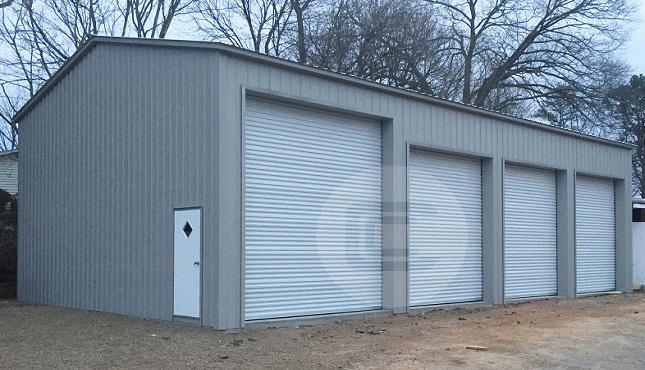 24x51x14 Side Entry Garage3