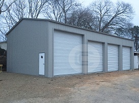24x51x14 Side Entry GarageG