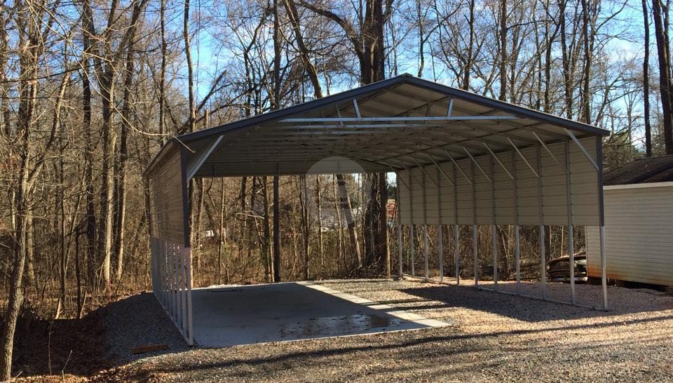 26×41 Triple Wide Carport