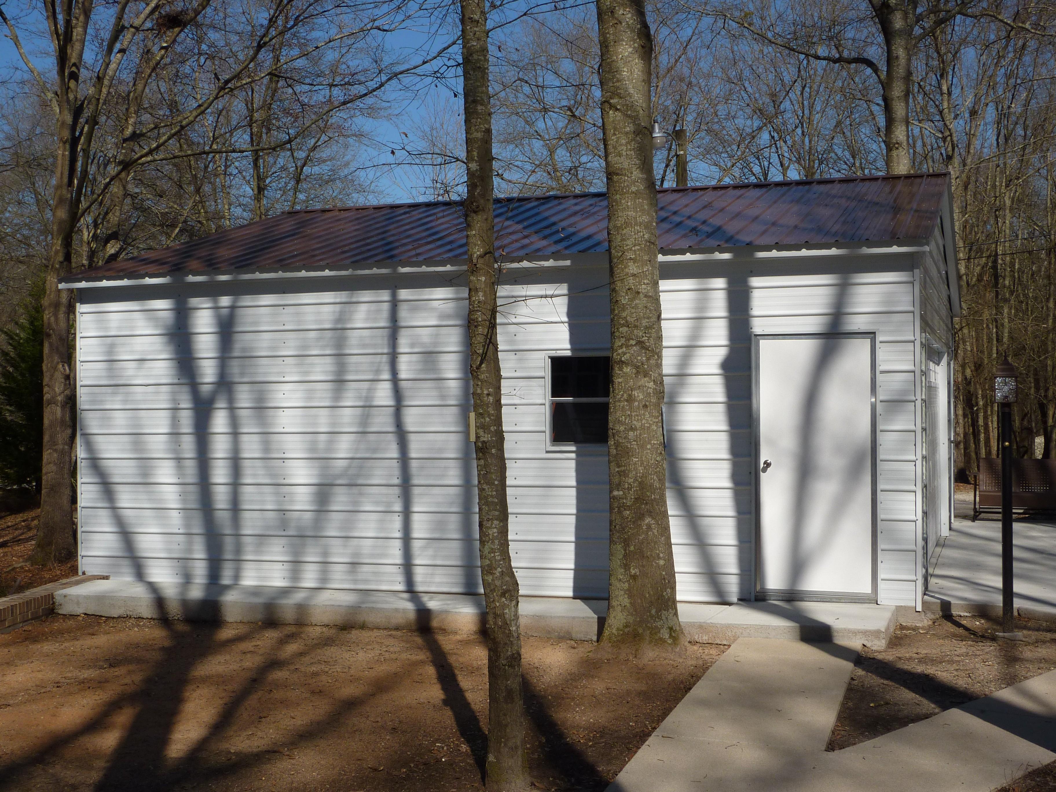 28x26x9 Steel Garage 2