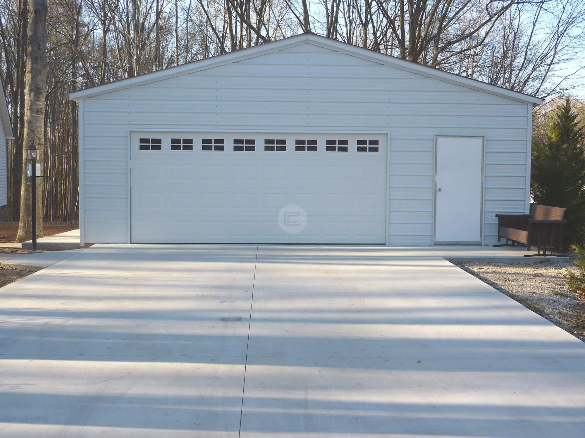 28x26x9 Steel Garage