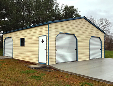 30x31 Metal Garage for Sale