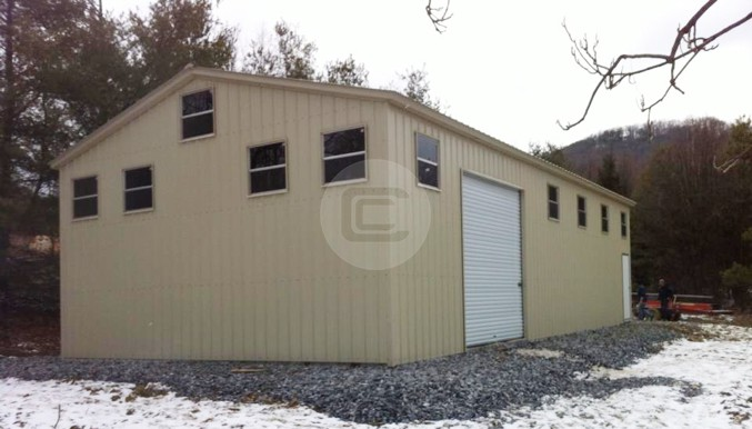 30'W x51'L x 14'H Workshop