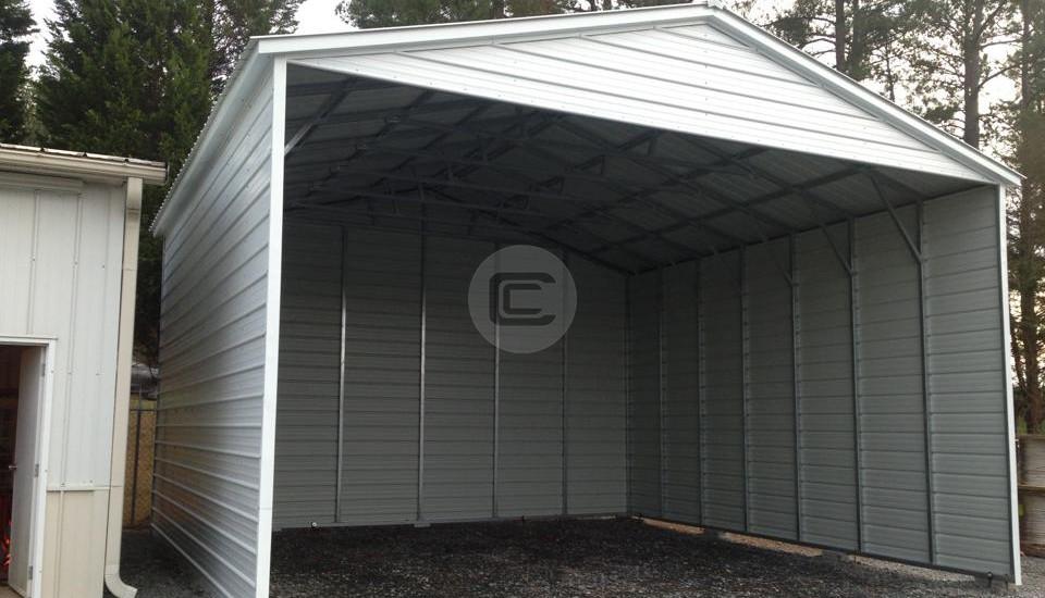 26×30 Enclosed Carport