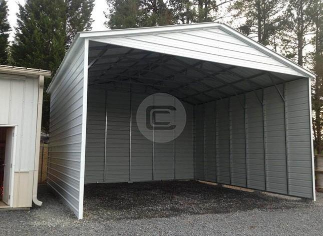 Enclosed Carports Home : Enclosed carport buy online