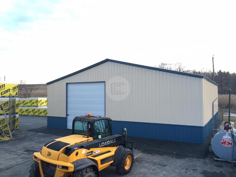 40 Wide Metal Garage