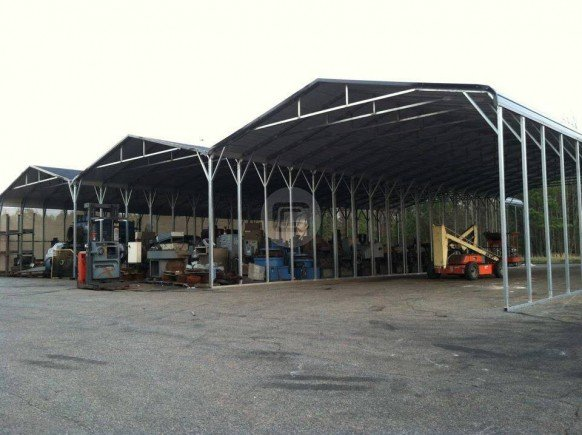 78x80x14 Custom Built RV Carport