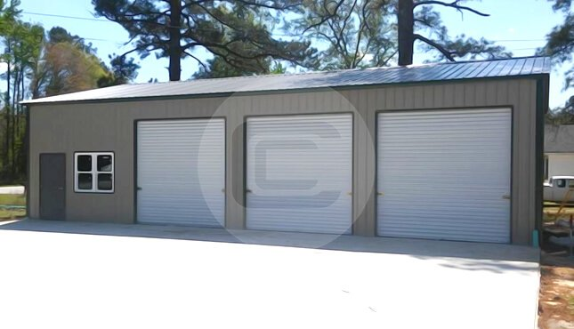 Metal barns steel buildings for sale buy carports online for Clear span garages