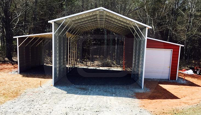 44x41x12 A-Frame Carolina Barn